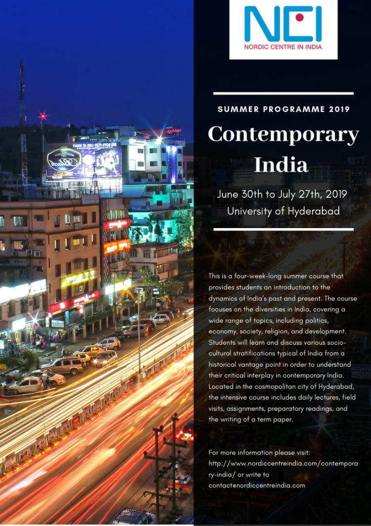 Contemporary India – Nordic Centre in India